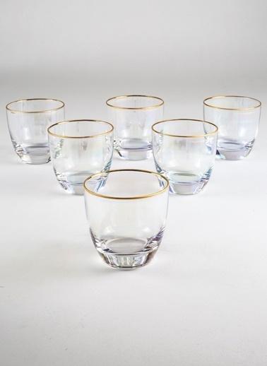 Rakle 370 cc Iris 6'lı Su Bardağı Seti Renkli